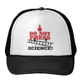 Don't Press This Button ~ Science! Hat
