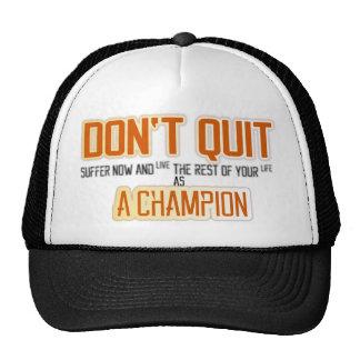 Don't Quit Cap