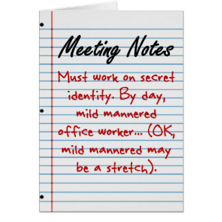 Don't Quit Your Day Job Note Card