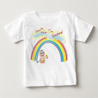 Don't rain on my sunshine! baby T-Shirt