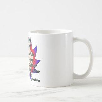 don't rub basic white mug