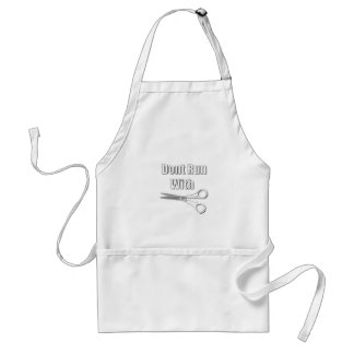 Dont Run With Scissors Aprons