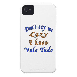 Don't say me Lazy i know Vale Tudo. Case-Mate iPhone 4 Cases