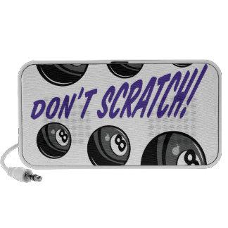 Don't Scratch Laptop Speakers