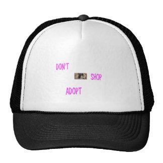 dont shop adopt trucker hat