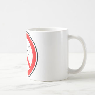 Don't smoke coffee mug