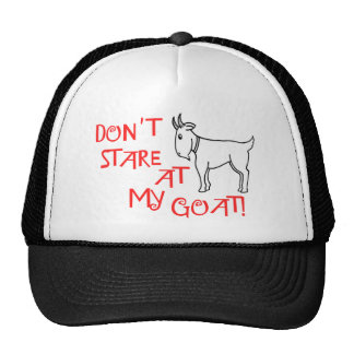 Don't State At My Goat Hat