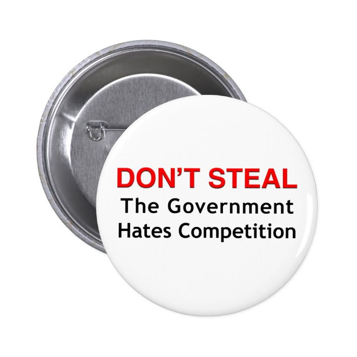 Don't Steal 6 Cm Round Badge