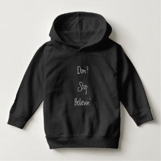 Don't Stop Believin' Kids Hoodie
