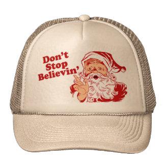 Dont Stop Believing Mesh Hats