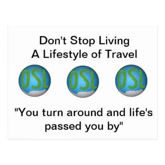 Don't Stop Living Postcard Set