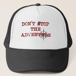 Don't Stop The Adventure baseball cap