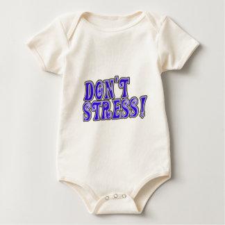 Don't Stress Baby Bodysuit