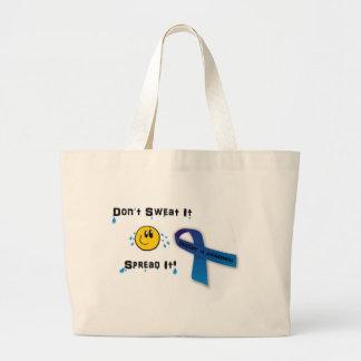 Don't Sweat Trisomy 18 Canvas Bag