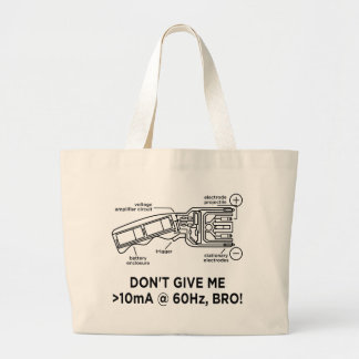 Don't Tase Me with Science Bro Tote Bag
