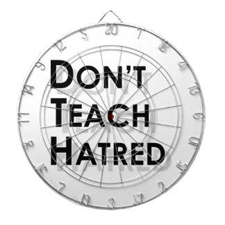 Don't Teach Hatred Dart Board