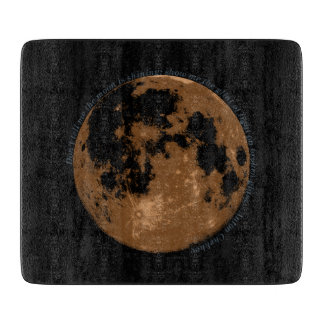 Don't tell me the moon is shining Chekhov quote Cutting Board