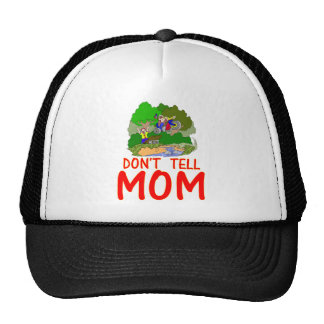 Don't tell MOM bike Mesh Hats