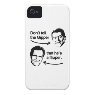 DON'T TELL THE GIPPER THAT HE'S A FLIPPER.png iPhone 4 Case