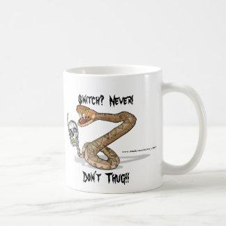 Don't Thug Basic White Mug