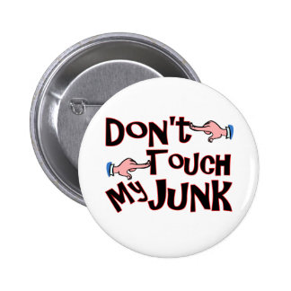 Don't Touch! 6 Cm Round Badge