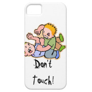Don't Touch! Barely There iPhone 5 Case