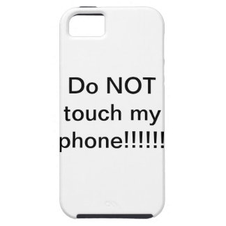 Don't touch! iPhone 5 covers