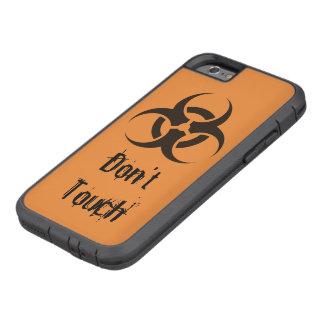 Don't Touch Hazardous mobile Tough Xtreme iPhone 6 Case