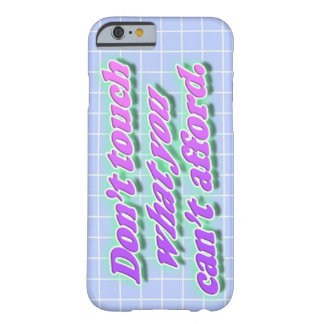 Don't Touch iPhone Cover