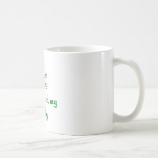 Dont Touch my Booty Basic White Mug
