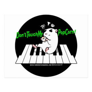 Don't Touch My Popcorn! Postcard
