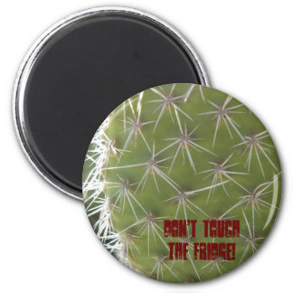 Don't touch the fridge! 6 cm round magnet