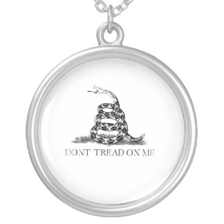 Don't Tread 1 Faded.png Necklaces