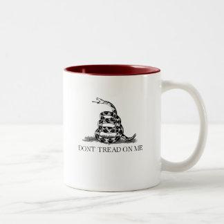 Don't Tread 1 Two-Tone Mug