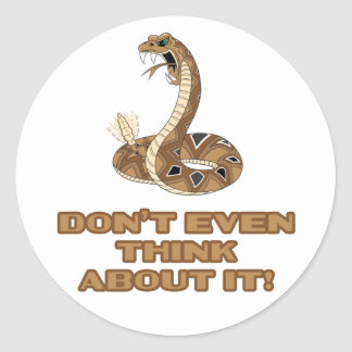 Don't Tread Classic Round Sticker