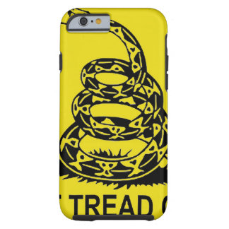 DON'T TREAD ON ME 2ND AMENDMENT UNITED STATES TOUGH iPhone 6 CASE