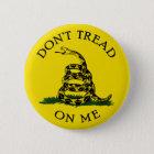 Dont Tread On Me 6 Cm Round Badge