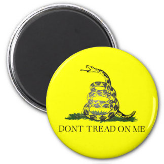 Don't Tread On Me 6 Cm Round Magnet