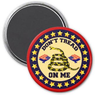 Don't Tread On Me 7.5 Cm Round Magnet