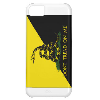 Dont Tread On Me Anarchist Flag iPhone 5C Cases