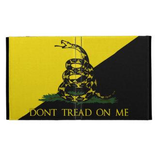 Dont Tread On Me Anarchist Flag iPad Folio Case