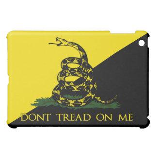 Dont Tread On Me Anarchist Flag iPad Mini Cases