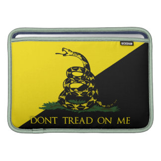 Dont Tread On Me Anarchist Flag MacBook Air Sleeves