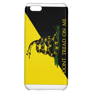 Dont Tread On Me Anarchist Flag Case For iPhone 5C