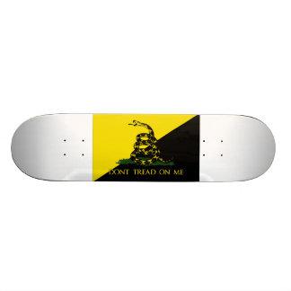 Dont Tread On Me Anarchist Flag Skate Board Deck