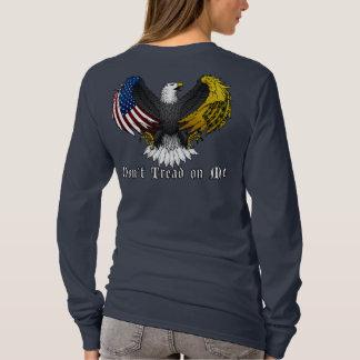 """""""Don't Tread on Me"""" (Black Eagle) T-Shirt"""