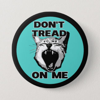 """Don't Tread On Me button (3"""")"""