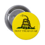 Don't Tread On Me Buttons