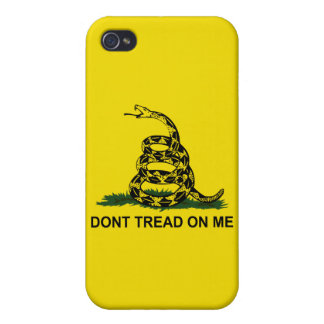 Don't Tread On Me Cases For iPhone 4