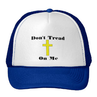 Don't Tread On Me Cross Religious Freedom Hat